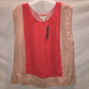NWT Jcrew Size 10 sleeveless blouse